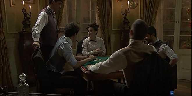 Una Vita: Antonito e Victor aprono una bisca