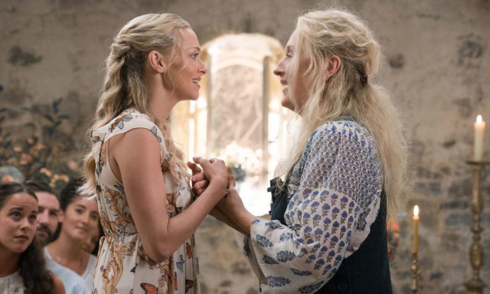 Amanda Seyfried e Meryl Streep