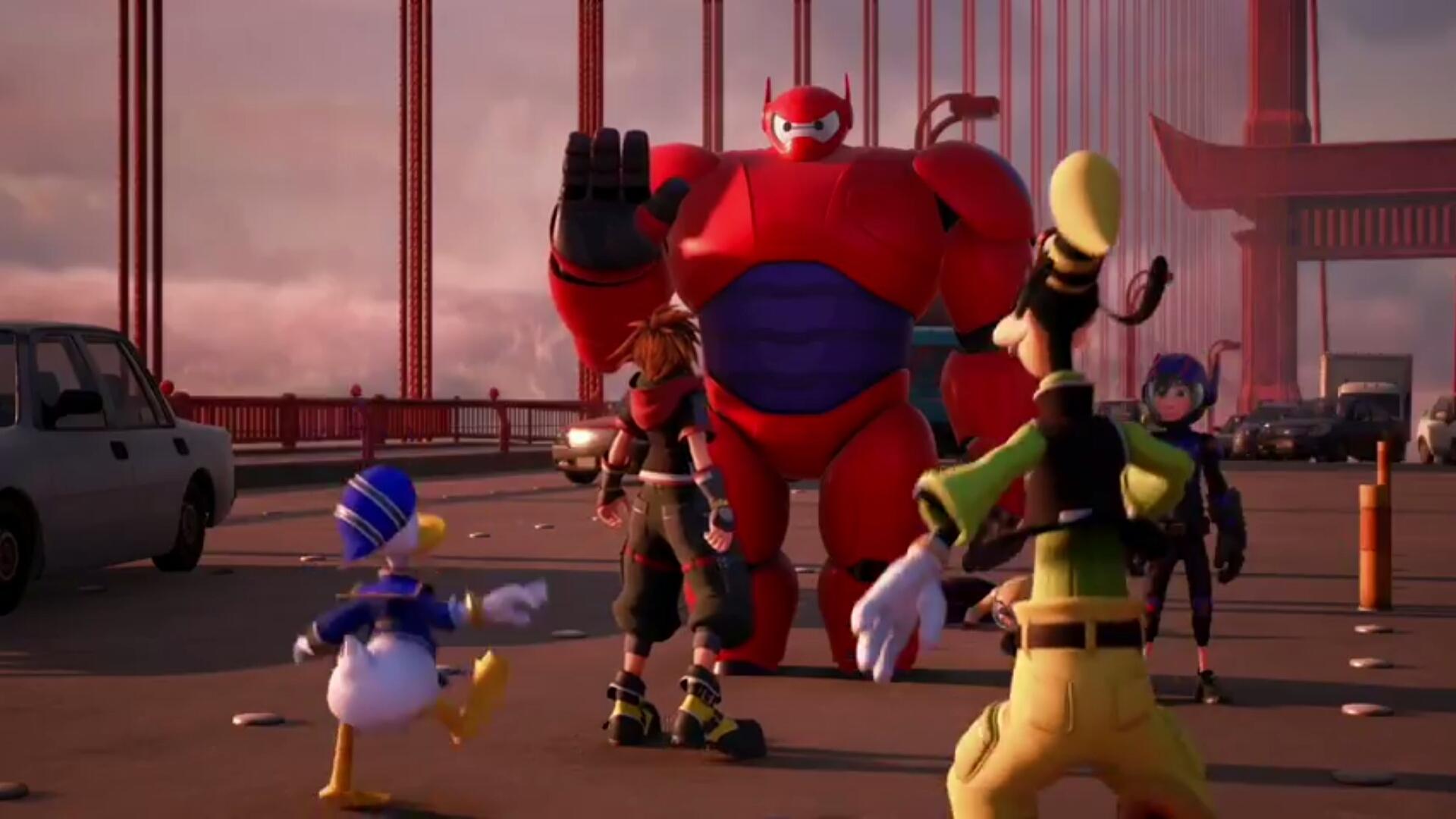 kingdom hearts iii big hero 6 2