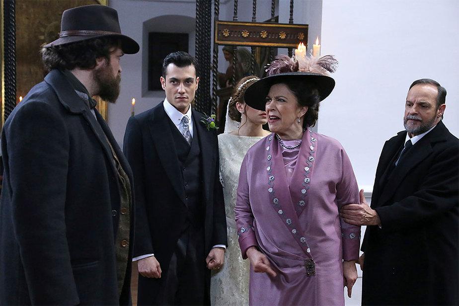 Il Segreto - Graciano Larraz e Donna Francisca