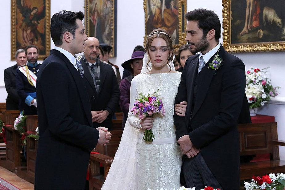 Il Segreto - Julieta, Saul e Prudencio