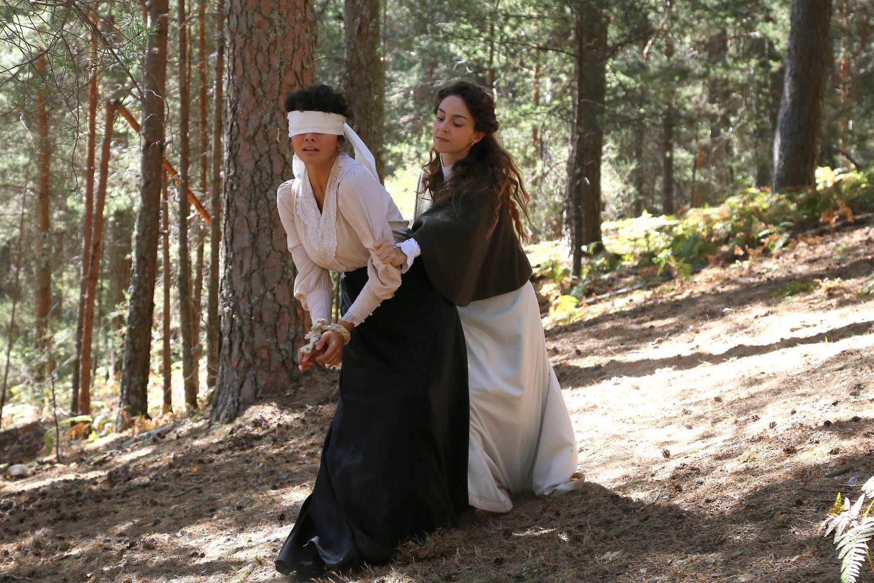 Una Vita: Olga rapisce Blanca
