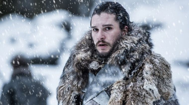 Kit Harington è Jon Snow in Game of Thrones