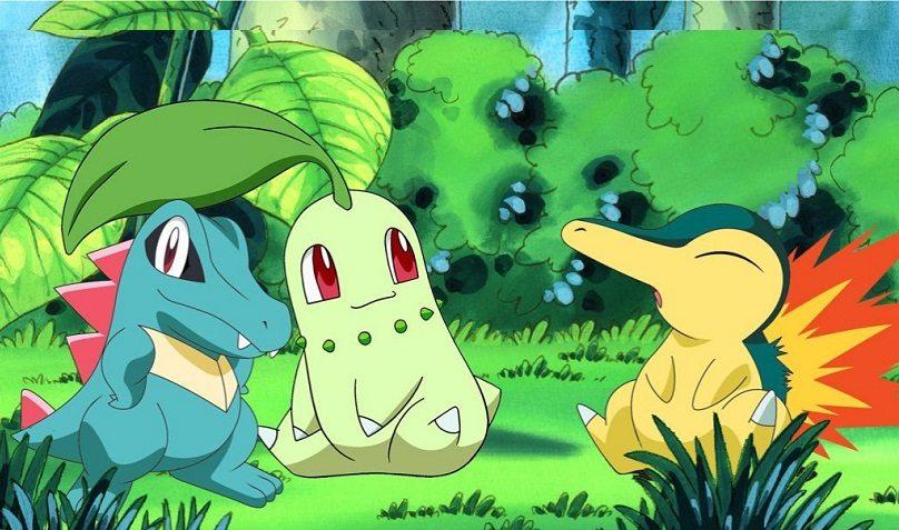 pokemon go totodile_chikorita_cyndaquil