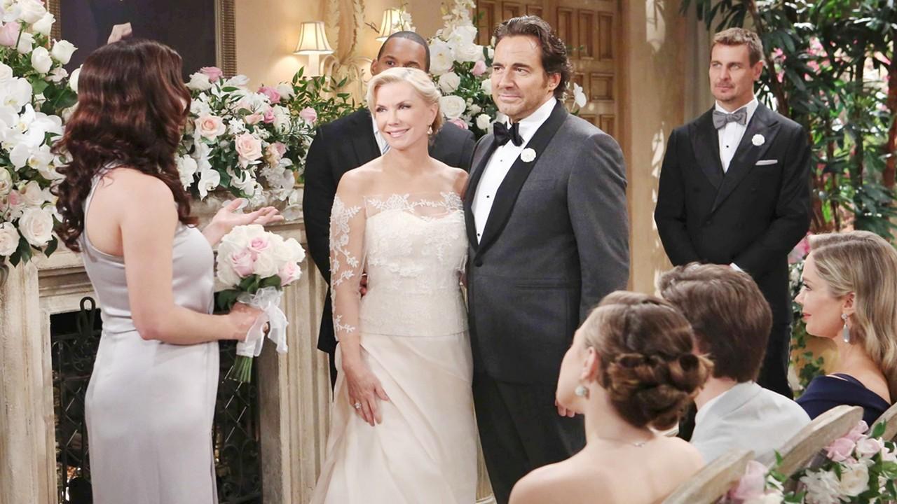 Beautiful, anticipazioni 5-10 novembre: il matrimonio di Ridge e Brooke