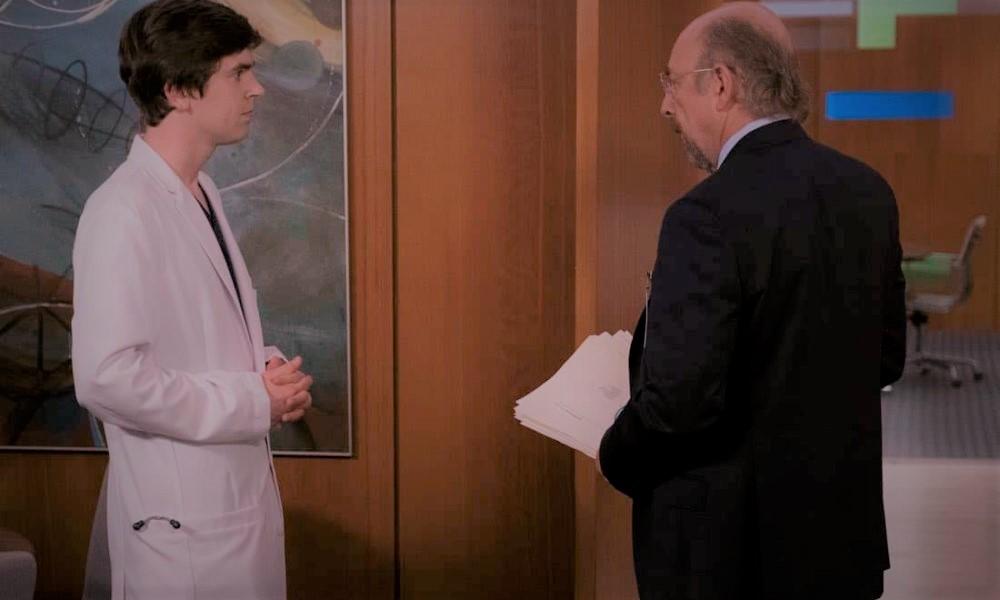 The Good Doctor Shaun e dottor Glassman