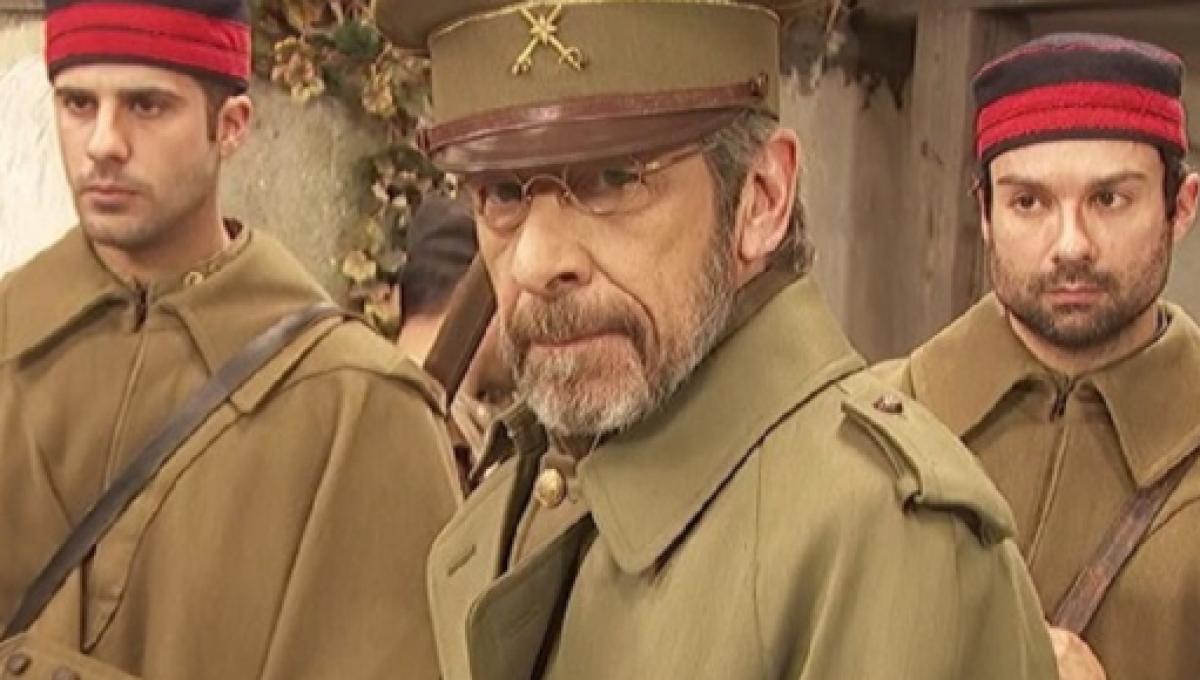 Il Segreto - il generale Perez De Ayala