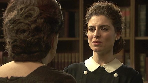 Il Segreto, anticipazioni serale 17 ottobre: Donna Francisca ricatta Nazaria