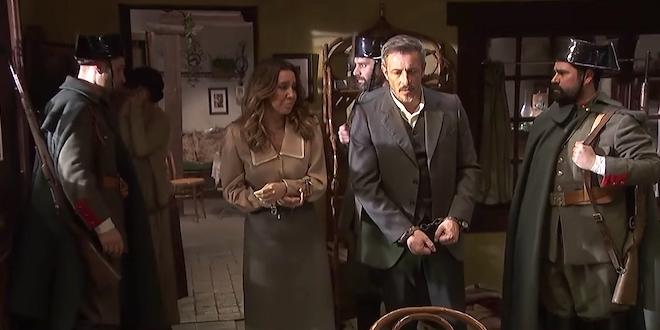 Il Segreto, anticipazioni puntata serale 30 ottobre: Emilia e Alfonso arrestati