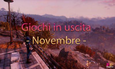 giochi in uscita novembre