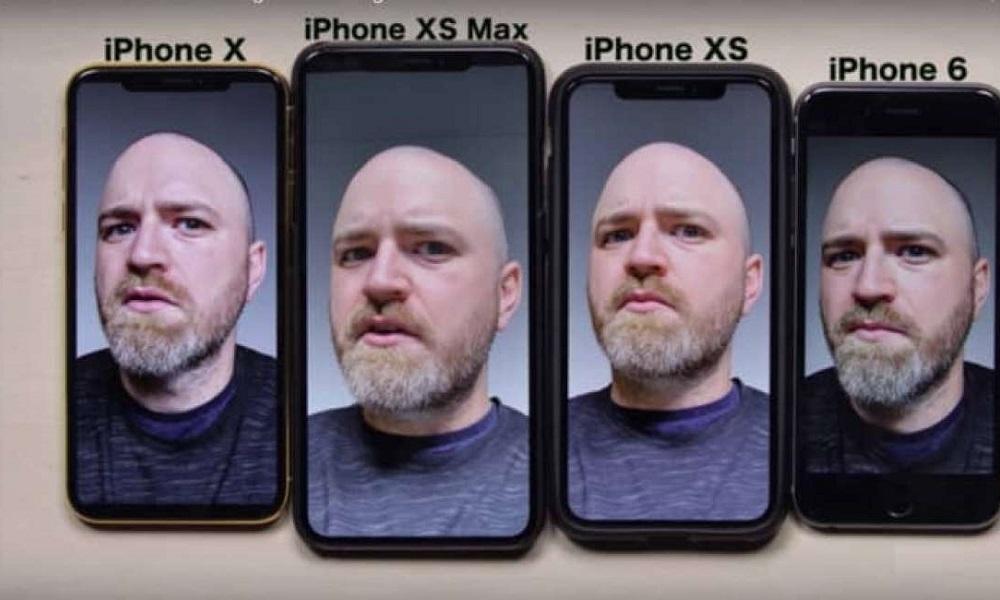 iphone xs selfie