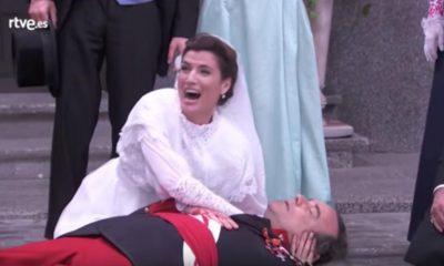 Una Vita, anticipazioni: Arturo muore per salvare Silvia alle loro nozze