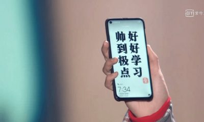 huawei nova 4 display bucato