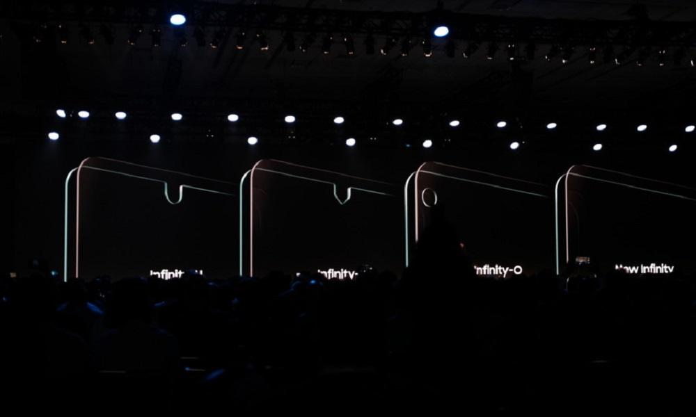infinity o samsung display