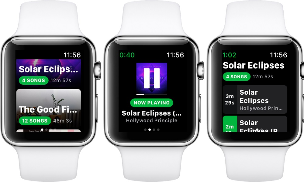 spotify apple watch