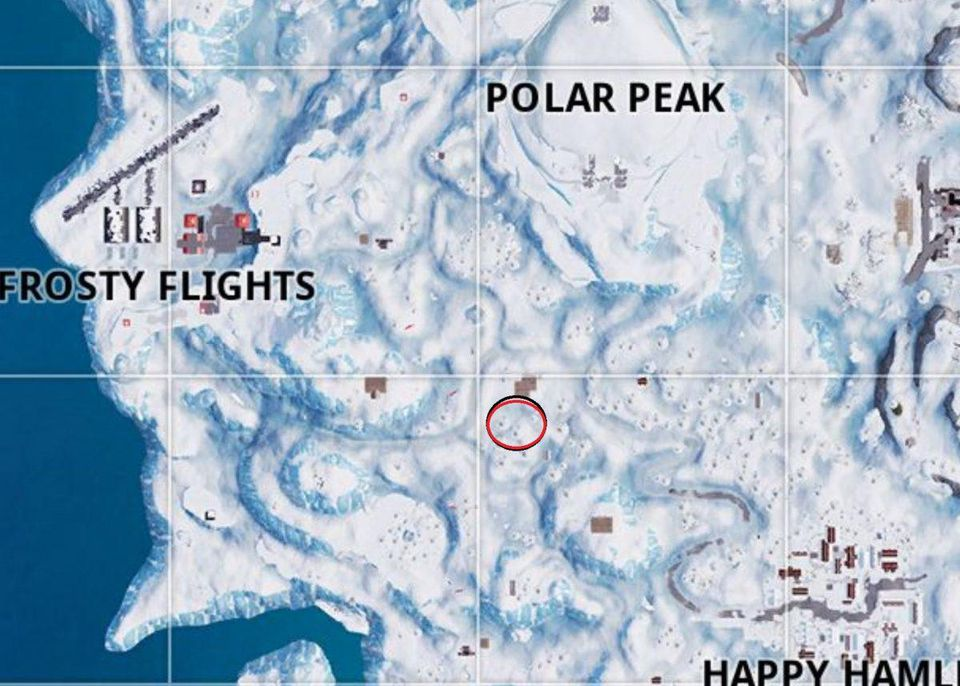 cerca tra tre baite da sci