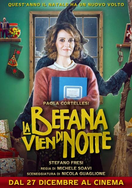 La locandina del film con protagonista Paola Cortellesi
