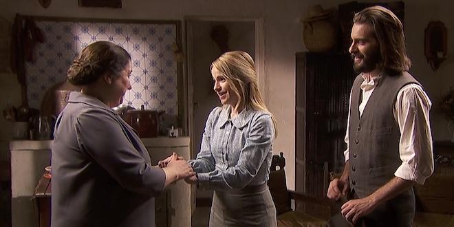 Isaac, Antolina e Consuelo / Il Segreto
