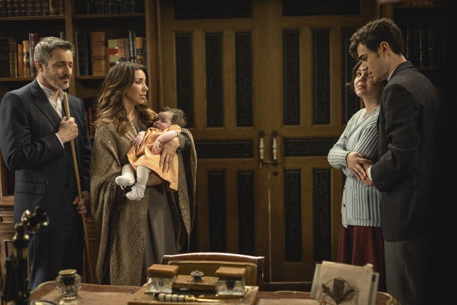Matias e Marcela con Alfonso e Emilia / Il Segreto
