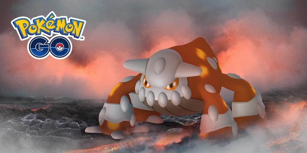 pokemon go heatran