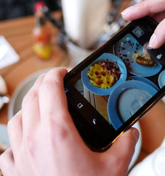 psicologia smartphone cibo