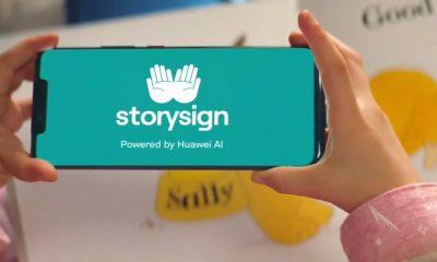storysign app huawei bambini sordi