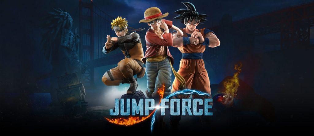 giochi in uscita jump force