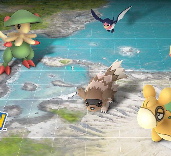 pokémon go evento Hoenn