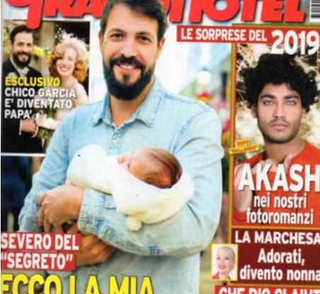 Severo de Il Segreto è diventato papà