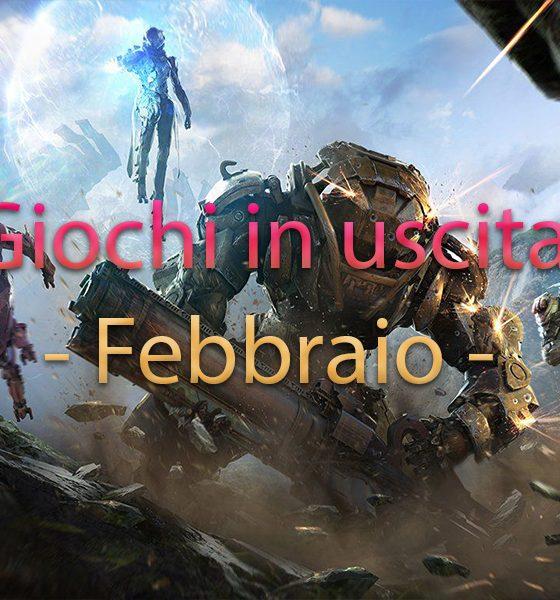 Giochi in uscita febbraio 2019