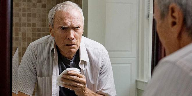 Clint Eastwood in una scena del film