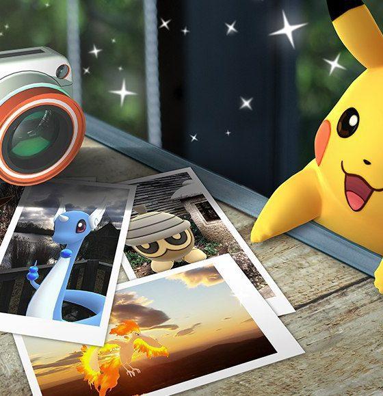 pokémon go foto go