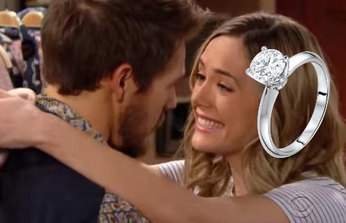 Beautiful, anticipazioni: Liam chiede la mano di Hope, Steffy distrutta