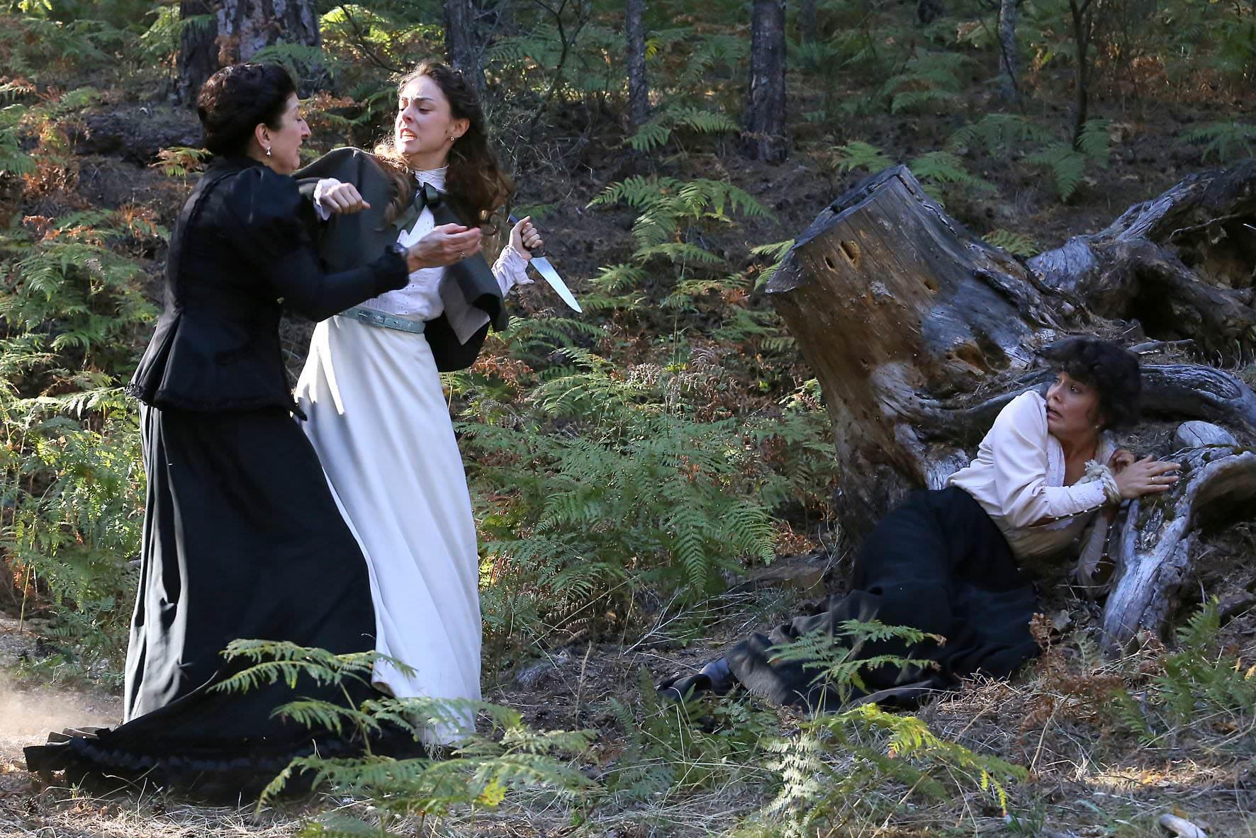 Olga e Blanca con Ursula/ Una Vita