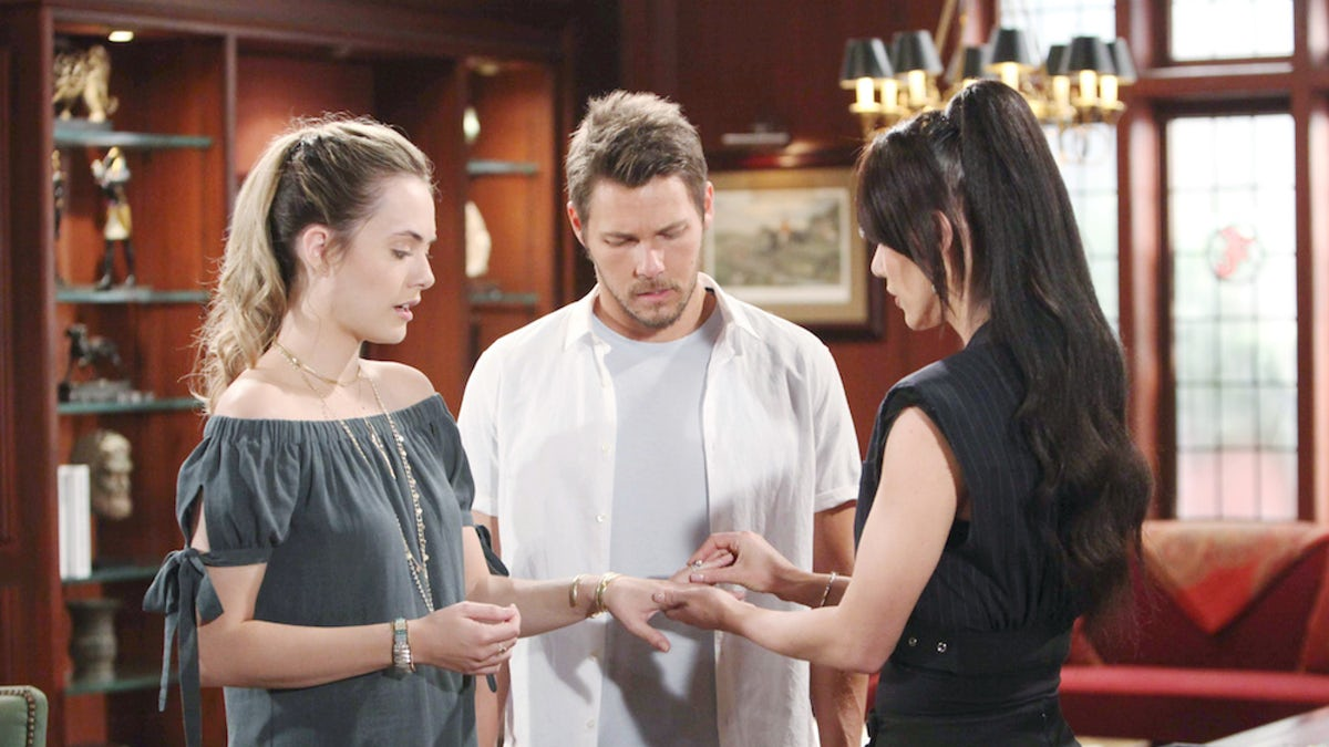Hope, Liam e Steffy/ Beautiful