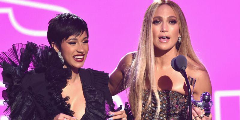 Jennifer Lopez e Cardi B