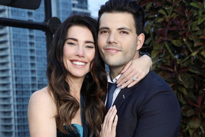 Jacqueline Wood e suo marito Elan Ruspoli/ Beautiful