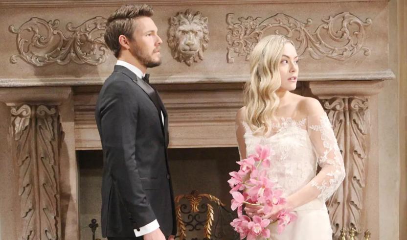Beautiful, anticipazioni: Liam sposa Hope dopo l'addio a Steffy