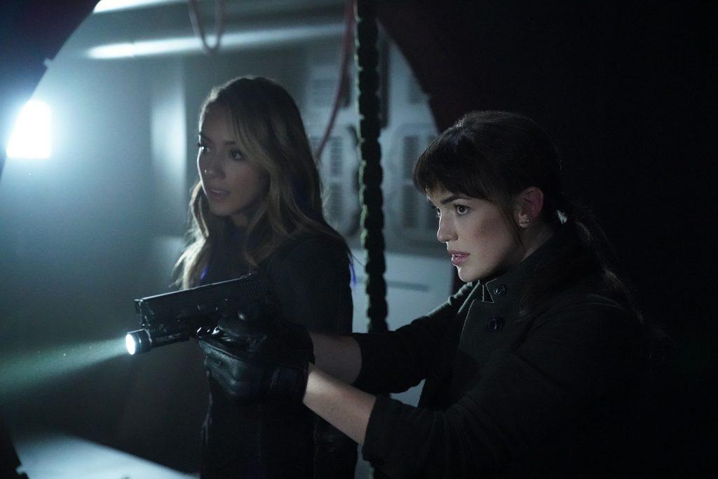 Agents of SHIELD 6x02 - Daisy e Simmons