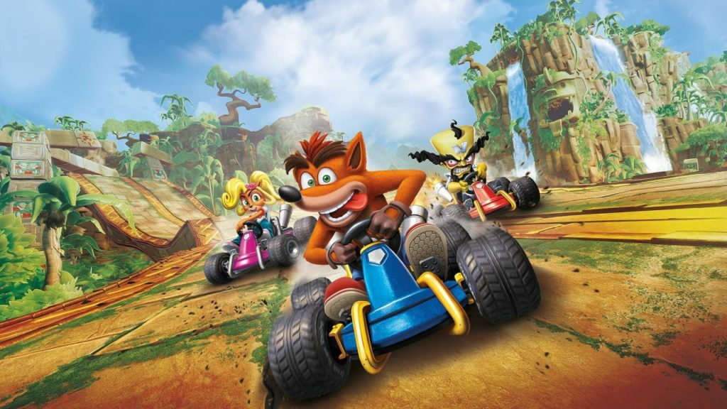 giochi in uscita crash team racing