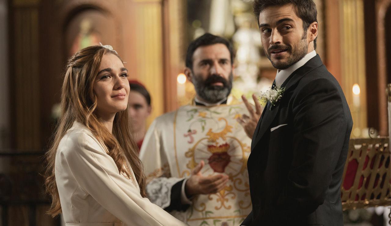Il Segreto, anticipazioni: Julieta e Saul diventano marito e moglie