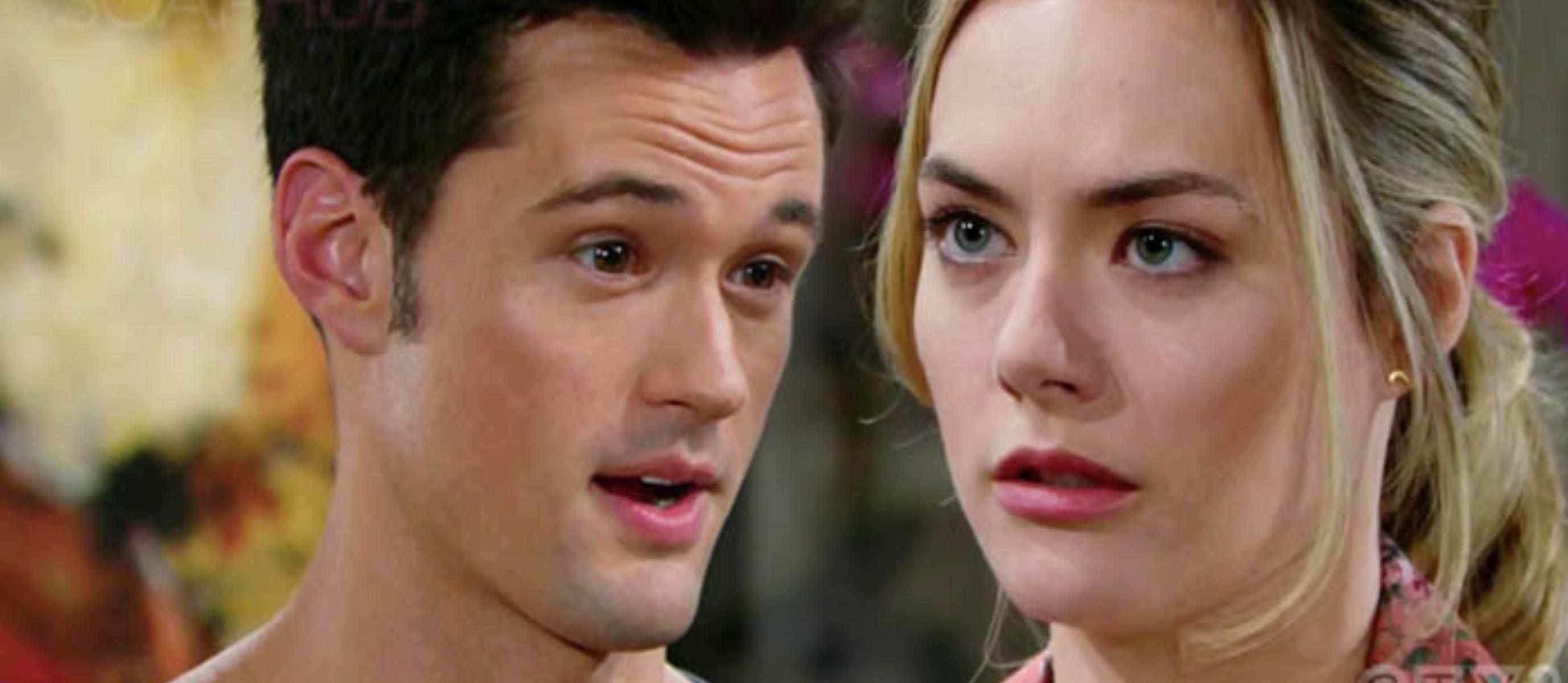 Thomas scopre la verità sulla figlia di Hope/ Beautiful