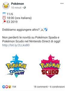 Account ufficiale di Pokemon
