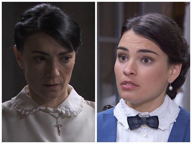 Leonor Hidalgo smaschera Cristina Novoa/ Una Vita