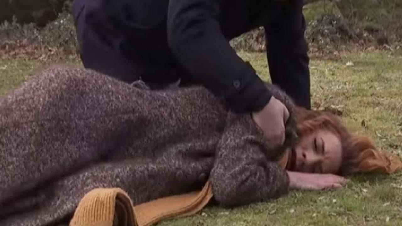 Faustino spara a Fe Perez/ Il Segreto