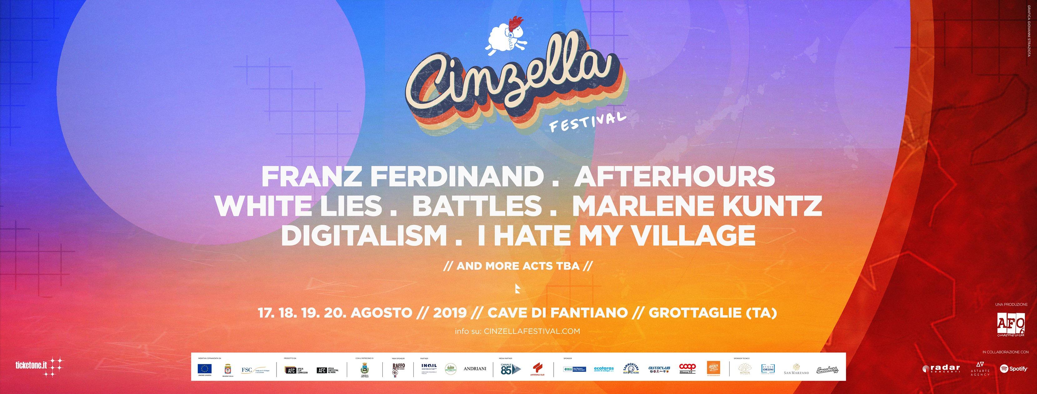 Cinzella line up
