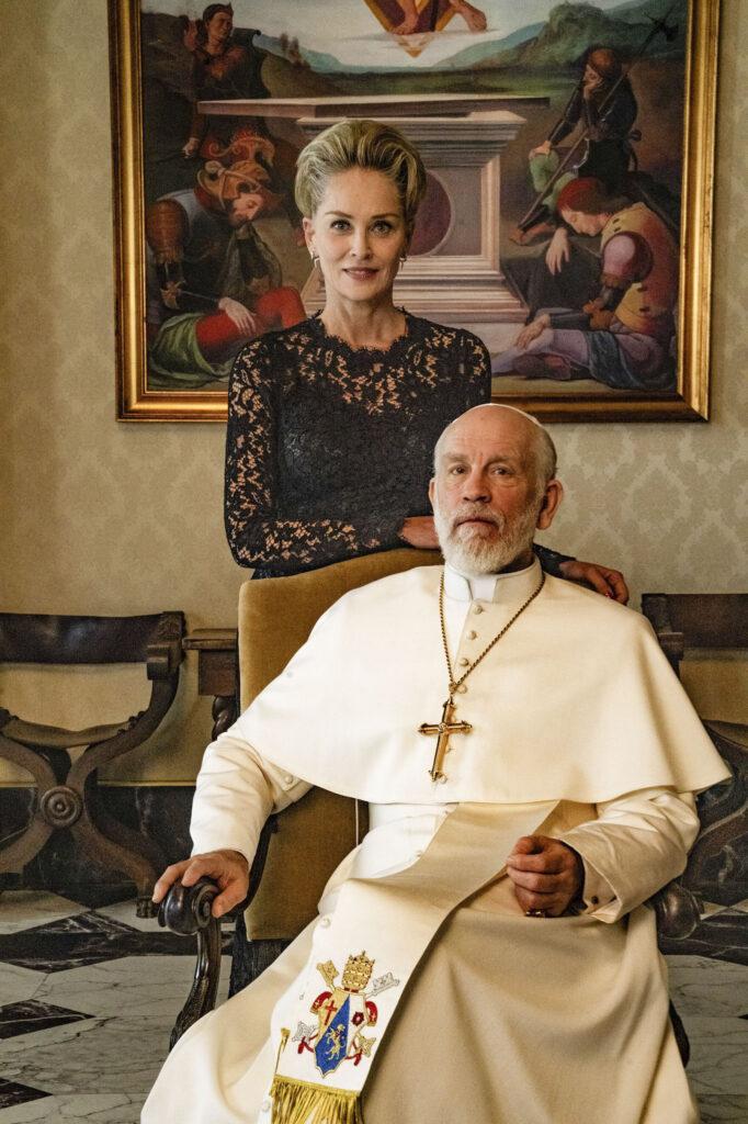 The New Pope - Sharon Stone e John Malkovic