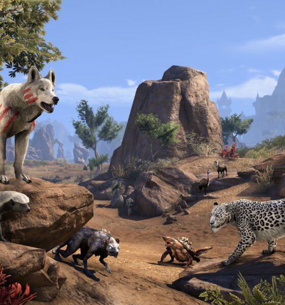the elder scrolls online animali
