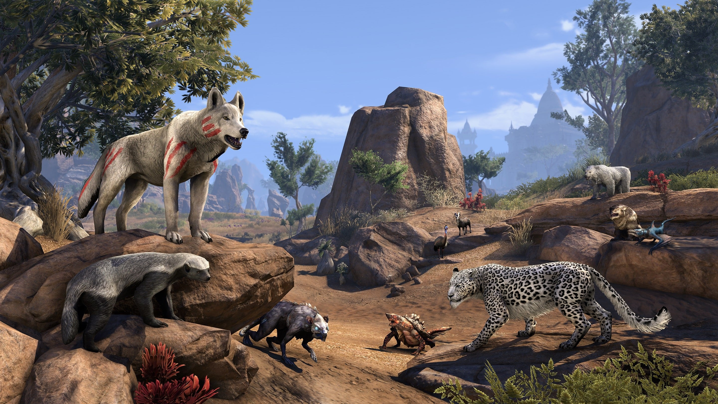 the elder scrolls online animali