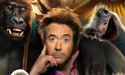 Dolittle, Robert Downey Jr., Gogo Magazine